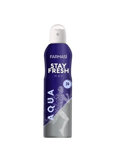 Farmasi Stay Fresh Aqua Deodorant Erkek-150Ml Renksiz